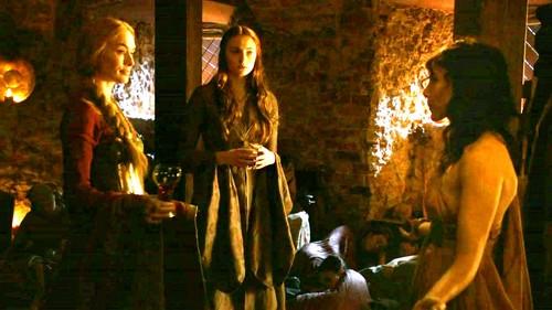 Cersei and Sansa