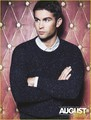 Chace in the cover spread for August Man's September 2012 issue - chace-crawford photo
