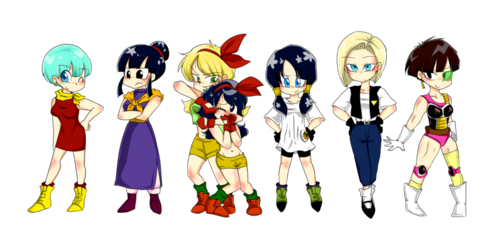 chibi gang a girls