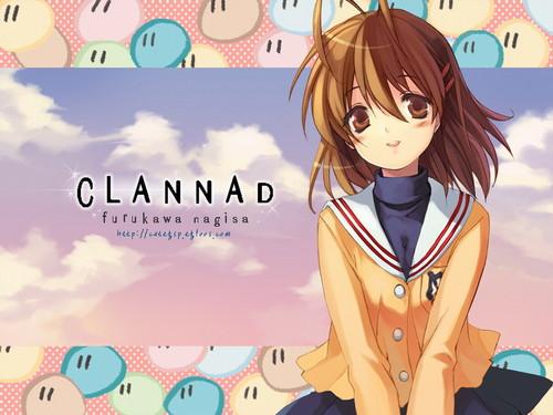 Clannad Hintergrund containing Anime called Clannad