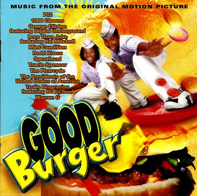Cover of Good Burger soundtrack