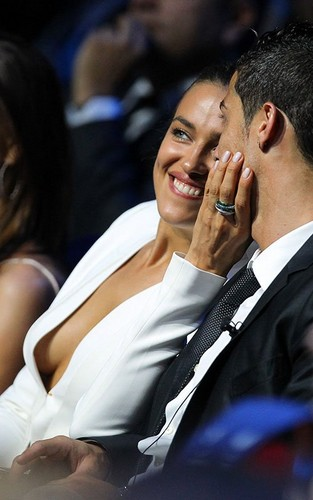 Cristiano &amp; Irina attended the UEFA Champions League draw in Monaco - cristiano-ronaldo Photo