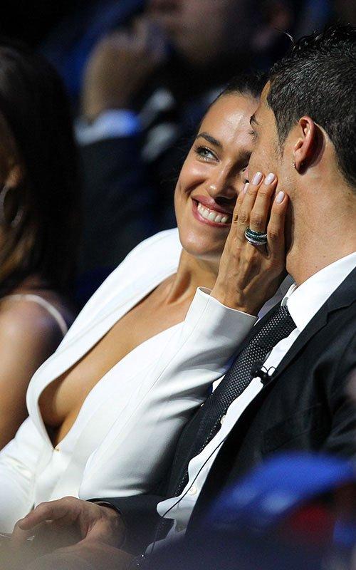 Cristiano & Irina attended the UEFA Champions League draw in Monaco