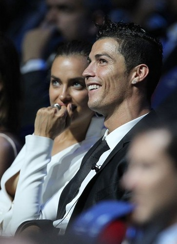 Cristiano & Irina attended the UEFA Champions League draw in Monaco