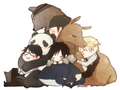 Crossover with Durarara - shirokuma-cafe photo