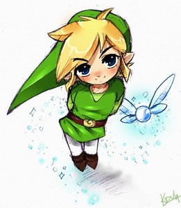 The Legend of Zelda wallpaper titled Cute link and navi