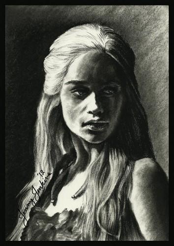 Daenerys Targaryen drawing sejak Jenny Jenkins