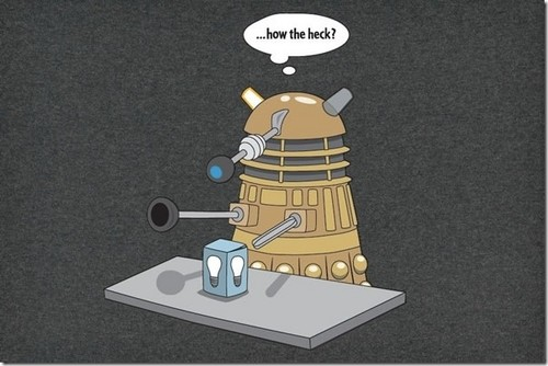 Доктор Кто Обои called Dalek Funnies