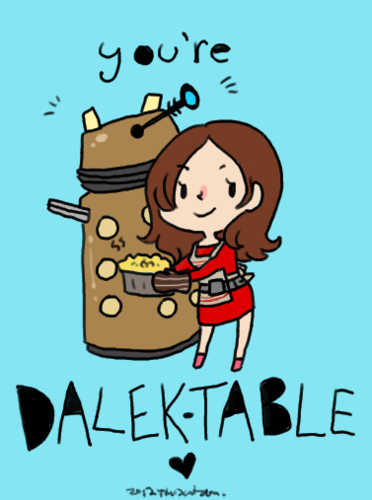 Dalek-table