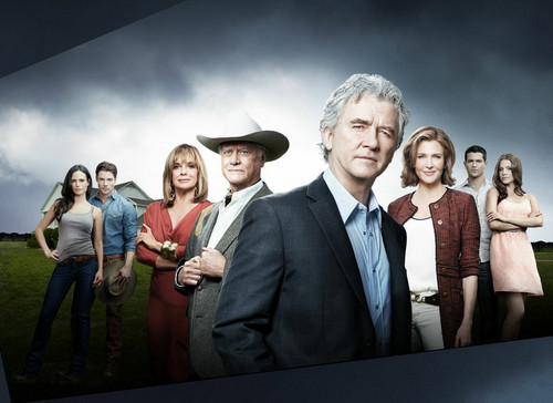 Dallas Tv Show wallpaper with a business suit entitled Dallas Cast
