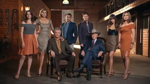 Dallas Tv Show wallpaper probably containing a músico de banda, bandasman, bandsman and a business suit titled Dallas Cast