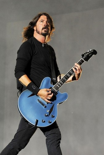 Dave Grohl and FooFighters at 읽기 Fest