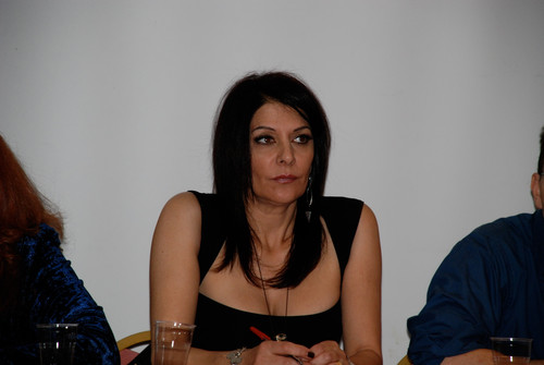 Marina Sirtis wallpaper probably with a portrait called Deepcon 10 Italcon 35 Eurocon