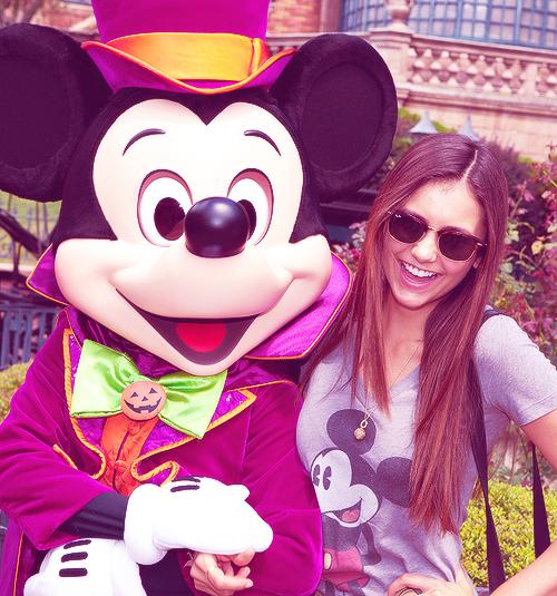Nina Dobrev Disney World Florida