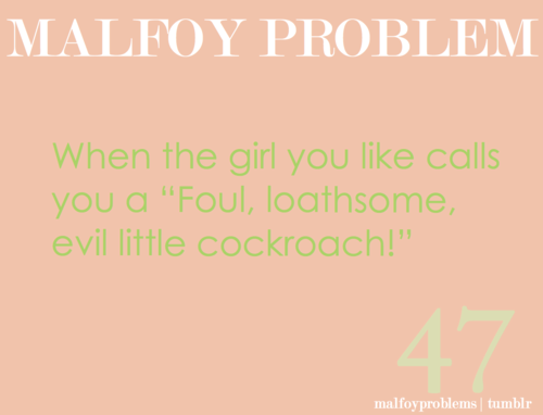 Draco Malfoy wallpaper titled Draco Malfoy problems