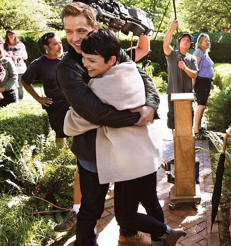 Once Upon A Time Images Ew Behind The Scenes Photo Hd