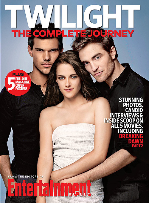 EW: Twilight - The Complete Journey Book Cover