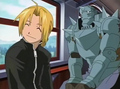Ed and Alphonse Elric - anime-siblings photo