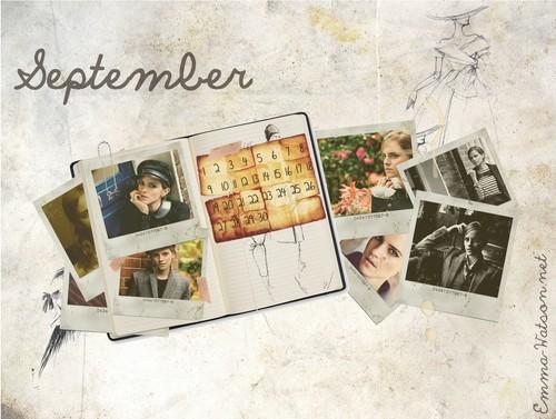Emma Watson - Calendar- September