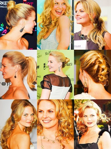Emma has the hair of a princess