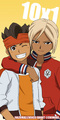 Endou & Gouenji - inazuma-eleven photo