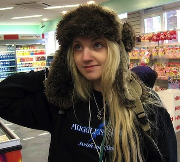Evanna Lynch fondo de pantalla possibly containing a newsstand, a supermarket, and a grocery store entitled Evanna