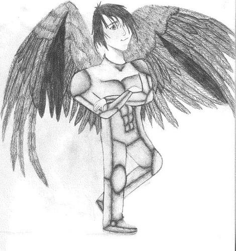 Fang in armor (An original!)