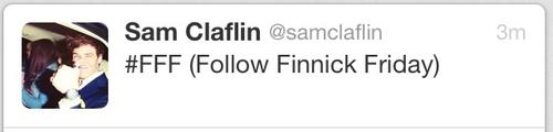 Follow Finnick Friday