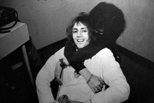 Freddie hugging Roger