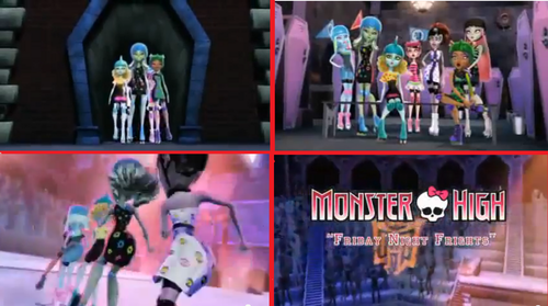 Friday Night Frights trailer best parts - monster-high Photo