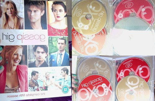 GOSSIP GIRL Complete Fifth Season DVD Cover♥