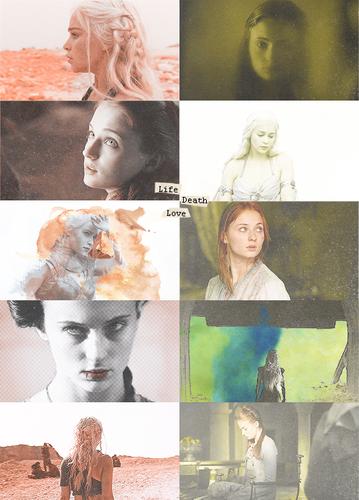 Sansa & Daenerys
