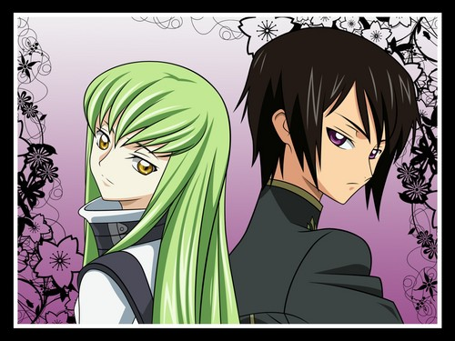 Code Geass karatasi la kupamba ukuta containing anime called Geass