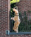 Gisele showing off her baby bump while sunbathing in a bikini in Boston (September 3) - gisele-bundchen photo