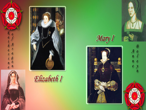 Great Tudor queens