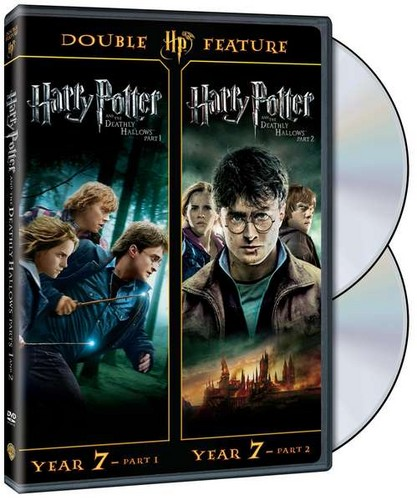 Harry Potter: год 7 BD/DVD sets with Deathly Hallows: Parts 1 & 2