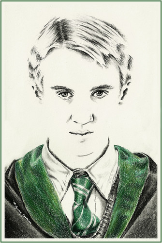 Harry Potter cast drawings door Jenny Jenkins