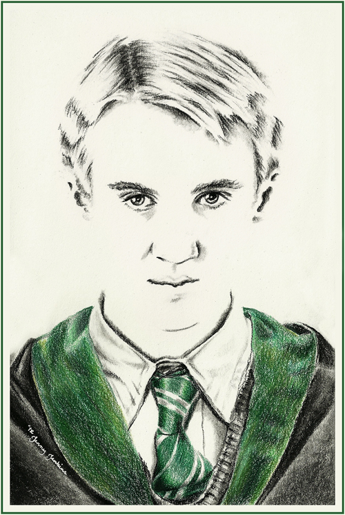 Harry Potter cast drawings by Jenny Jenkins