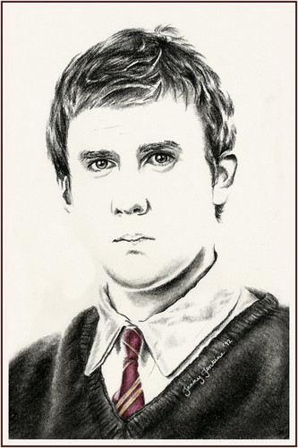 Harry Potter cast drawings oleh Jenny Jenkins