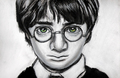Harry Potter drawing por Jenny Jenkins