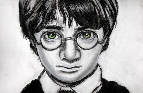 Harry Potter hình nền called Harry Potter drawing bởi Jenny Jenkins