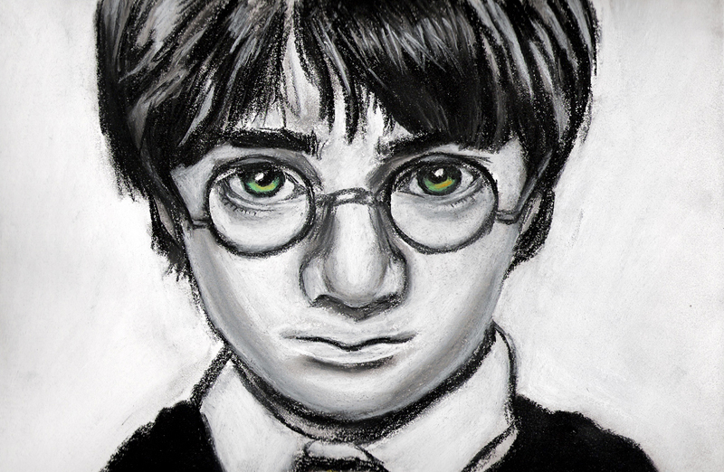 Harry Potter drawing by Jenny Jenkins