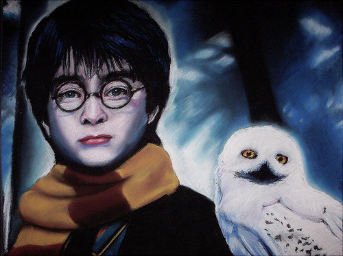 Harry Potter drawing bởi Jenny Jenkins