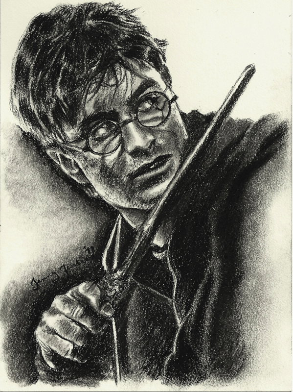 Harry Potter drawing par Jenny Jenkins