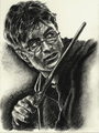 Harry Potter drawing door Jenny Jenkins