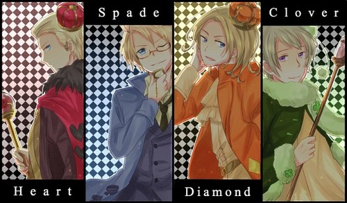 hetalia - axis powers Cardverse (The Kings)