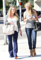 Hilary - With friend out in Hollywood - August 27, 2012 - hilary-duff photo