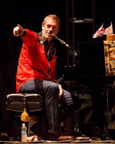 Hugh Laurie - Rhythm & Roots Festival 01.09.2012