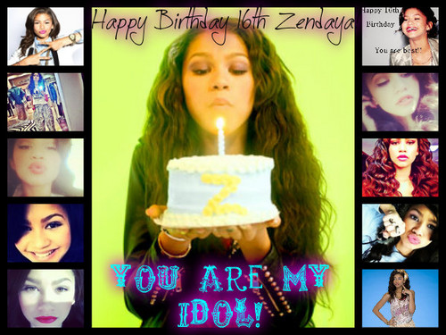 I made this for Zenny for her birthday!