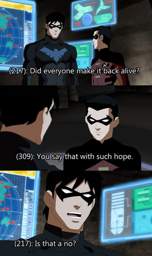 Is That a No? - young-justice Photo